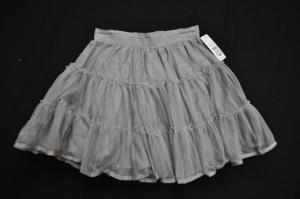 Grey Tulle Skirt - Size 9 - RRP $22.99