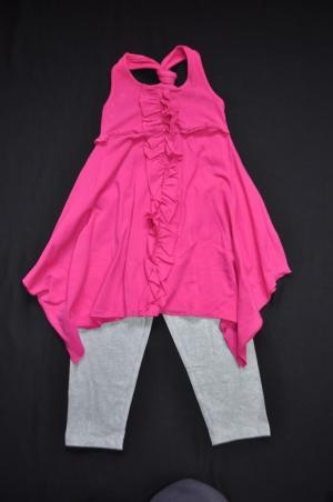 Hanky Hem Tress & 3/4 Leggings - Size 4 - RRP $26.00