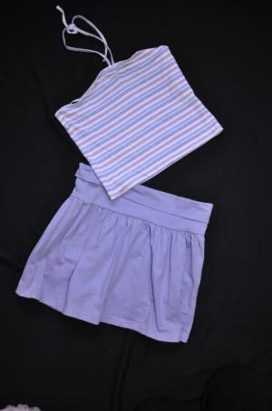 Halter Top & Skirt - Size 7