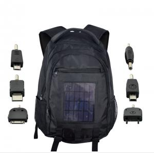 Solar Battery Charger Backpack