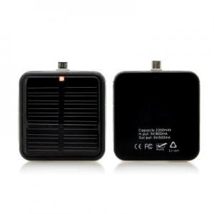 Portable Micro USB Solar Mobile Phone Charger