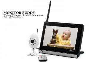 Baby Monitor, Monitor Buddy - Wireless, 7 inch