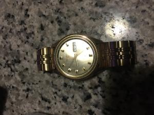 Vintage Seiko men's automatic watch