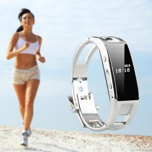 Bluetooth 3.0 Smart Wristband Watch Pedometer