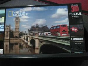 3D Jigsaw Puzzle Big Ben