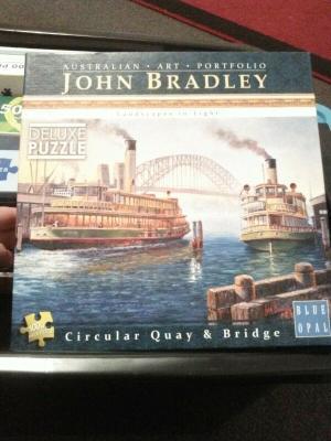 Puzzle Circular Quay And Bridge