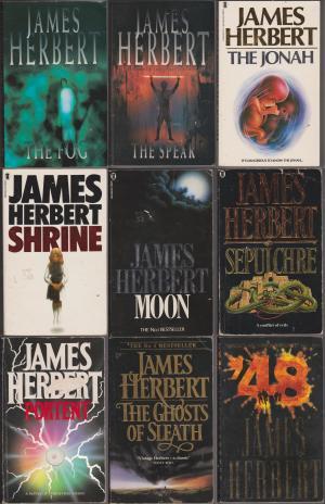 James Herbert x 9: Fog, Spear, Jonah, Shrine, Moon, Sepulchre, Portent