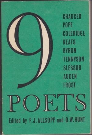 9 Poets, edited by F J Allsop and O W Hunt