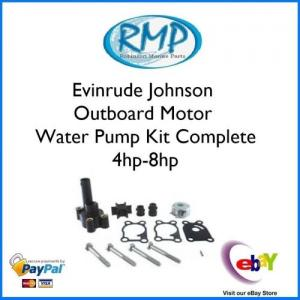 Evinrude Johnson Water Pump Kit 4hp-thru-8hp