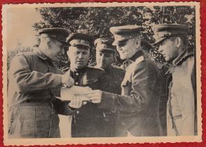r421)  WW2 Russian Photo Nikita   Khrushchev