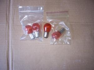 TURN SIGNAL / MARKER LIGHT AMBER 12V BULB
