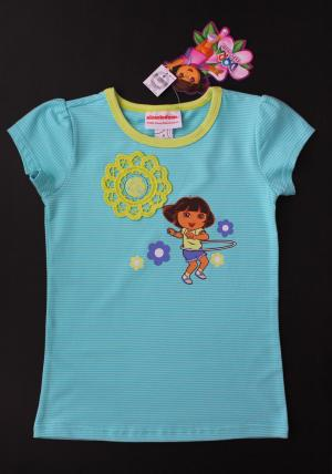 Dora The Explorer Girls' Short Sleeve Top