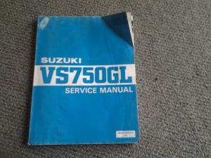 suzuki vs750GL service manual