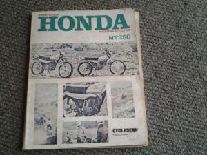Honda MT 250 service manual