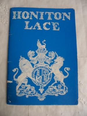 Vintage Reference Book Honiton Lace by P.M. Inder