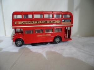 Red Double Decker Bus Toy Souvenir London