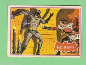 SCANLENS 1966 BATMAN RED BAT CARD 41a