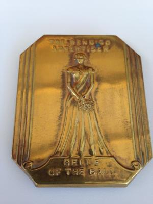 Bendigo Advertiser Belle Of The Ball Badge