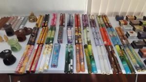 4 packs of 20 incense sticks (80 total)