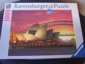 Ravensburger - Sydney Harbour Bridge & Opera House 1000 pieces jig