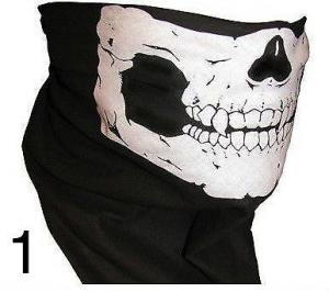 Brand New 13 in 1 Biker Skull Face Mask x 1
