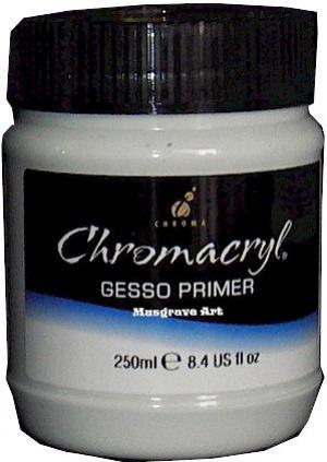 Chromacryl Gesso (paint primer) 250 ml