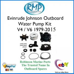 Water Pump Kit Evinrude Johnson V4 / V6 / V8 1979-2015 # R434421