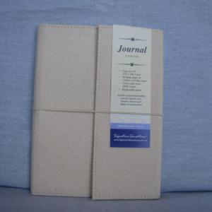 Canvas A5 Drawing & Sketch Book Journals - Cream Cover