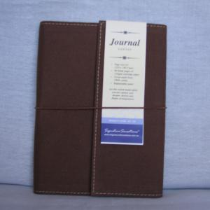 Canvas A5 Drawing & Sketch Book Journals - Brown Cover