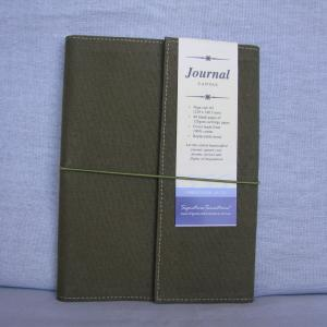 Canvas A5 Drawing & Sketch Book Journals - Green Cover