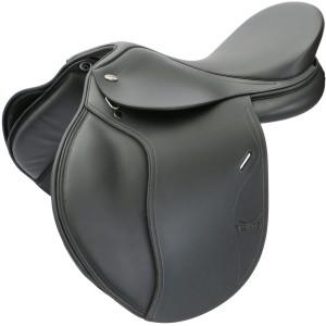 Tekna S6 All Purpose Saddle Smooth Seat - BLACK