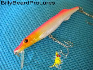 1x 85mm Minnow Bream Bass Barra Trout Cod Perch Fishing Lure -20