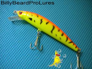 1x 95mm Minnow Bream Bass Barra Trout Cod Perch Fishing Lure -11