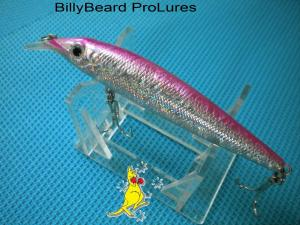 1x 100mm  Minnow Bream Barra Bass Flathead Cod Fishing Lure -23