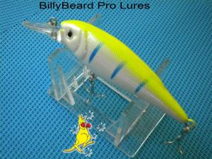 1x 100mm Minnow Bream Bass Barra Flathead Cod Perch Fishing Lure -38