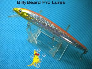 1x 120mm Lazer Minnow Bass Cod Barra Flathead Perch Fishing Lure -42