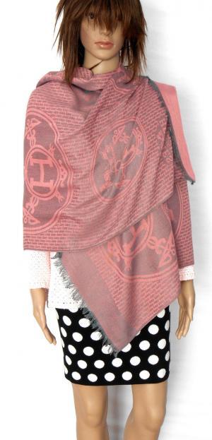 CASHMERE  shawl, dusty rose - pashmina style wrap, NWOT