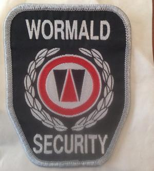 Wormald Security Embroidered Patch