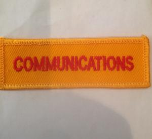 NSW Rural fire Services Communications Embroidered Patch