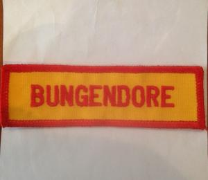 NSW Rural fire Services Bungendore Embroidered Patch