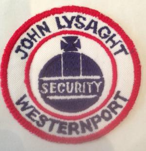 John Lysaght Westernport Security Embroidered Patch