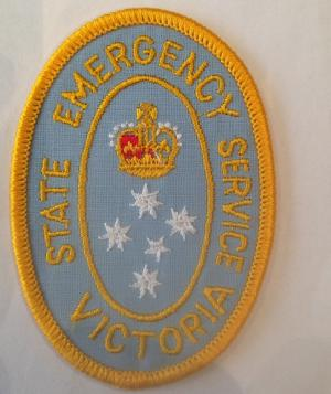 State Emergency Service Victoria Embroidered Patch