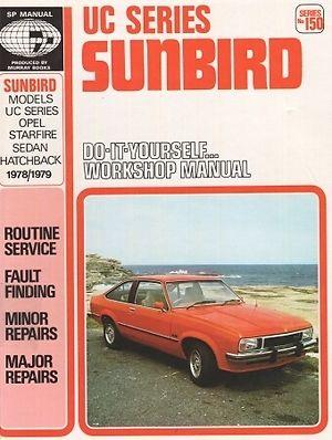 UC Series Sunbird Do It Yourself Workshop Manual Series No.150