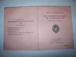 Commercial Bank Of Australia monetary unit guide