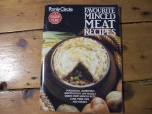 Favourite minced meat recipes cook book