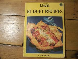 Collins Cheerful cooking budget Recipes cook book