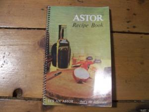 Astor recipe book for foods and beverages