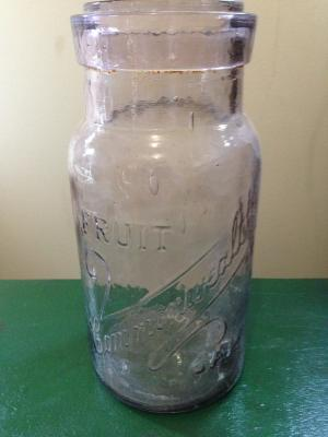 Commonwealth Fruit Jar