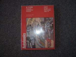 Jaguar E type workshop manual