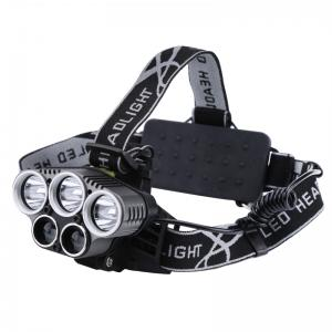 CREE LED Headlight - 5 LED 5 Light Modes